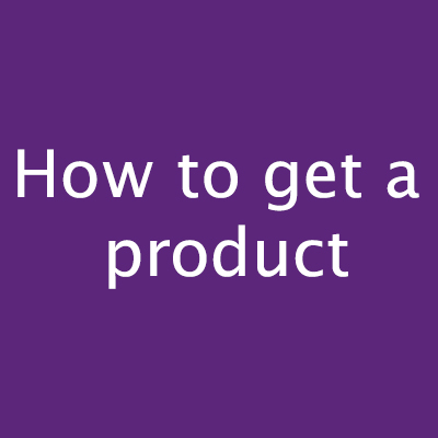 How to get a product